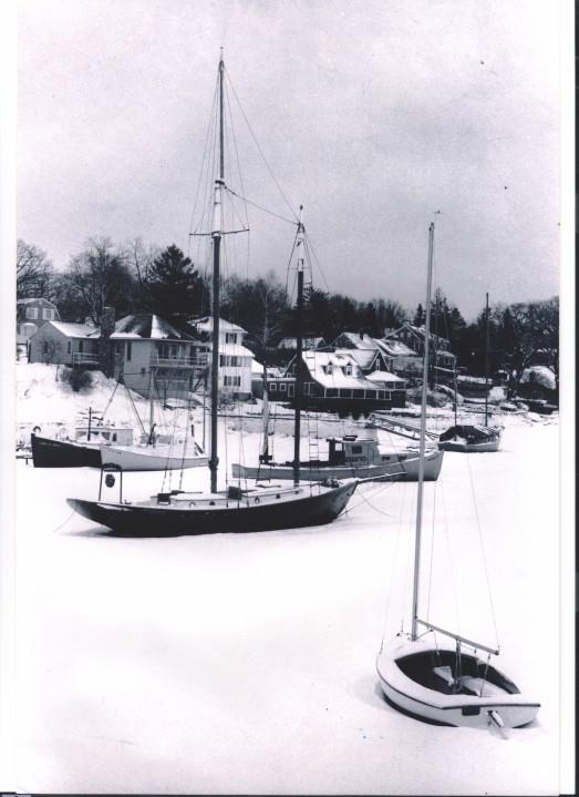 Winter near Newburyport, MA.