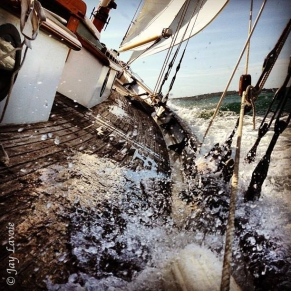 Photo by Jay Lavoie - Summer 2013 out on Vineyard Sound