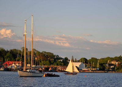 In Lunenburg, Heart's Desire, and (sailing) Fo'get About It.