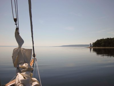 A light day on Bras D'or Lake