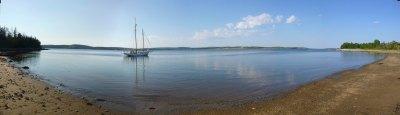 Spry bay, Nova Scotia