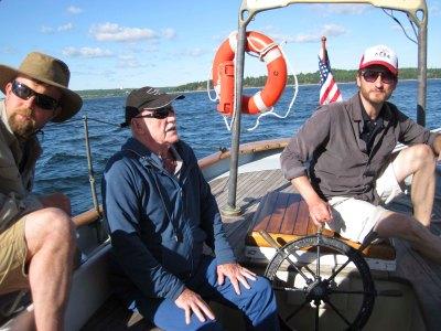 Matt, Dave & Tyler out in Halifax Harbour