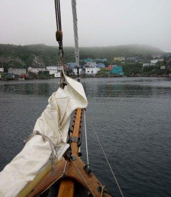 Entering Rose Blanche, Newfoundland.