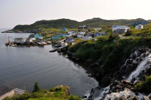 View of the community, Grand Bruit, NL.