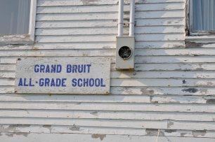 The school in Grand Bruit.