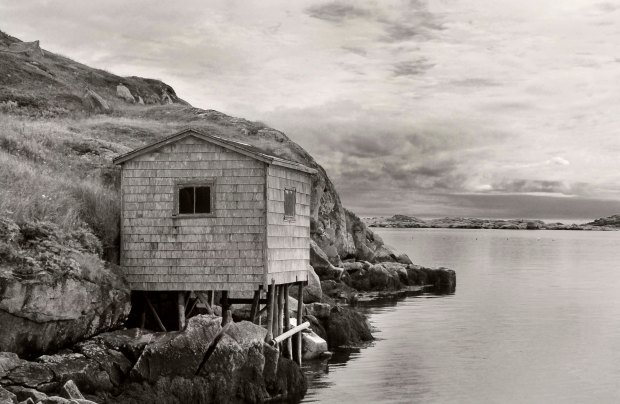 Fishing shack in Rose Blanche.