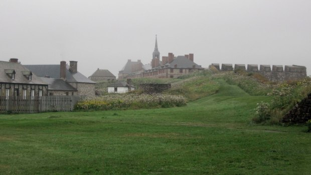 Dreary day at the Fortress of Louisbourg
