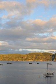 Gaultois Bay looking into Hermitage Bay, Newfoundland.