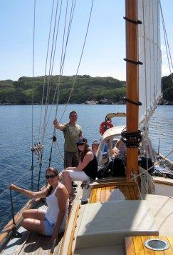 Lovely day for a sail in McCallum.