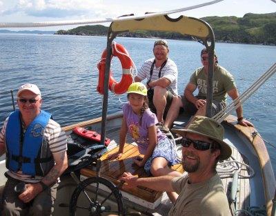 Sailing in McCallum