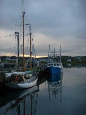 In Port Bickerton (Mouton Harbour), Nova Scotia
