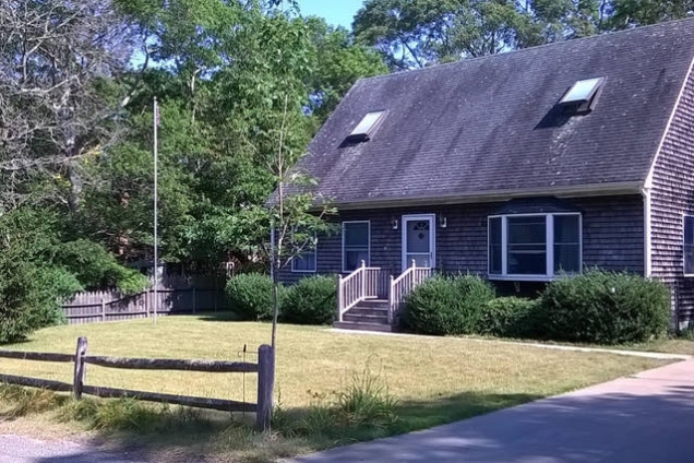 Front yard of the house.