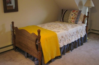 Single bed in upstairs room #1